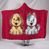 My Dog and Cat Hooded Blanket