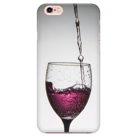 Custom iPhone 6/6s Case Purple Wine
