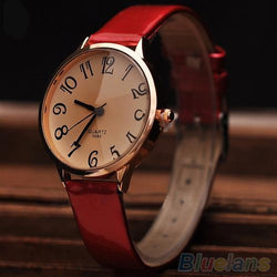 Red womans watch