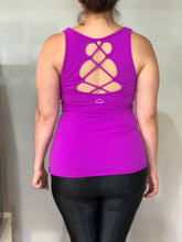 Beyond Yoga - Open Racerback Criss-Cross Tank, porch