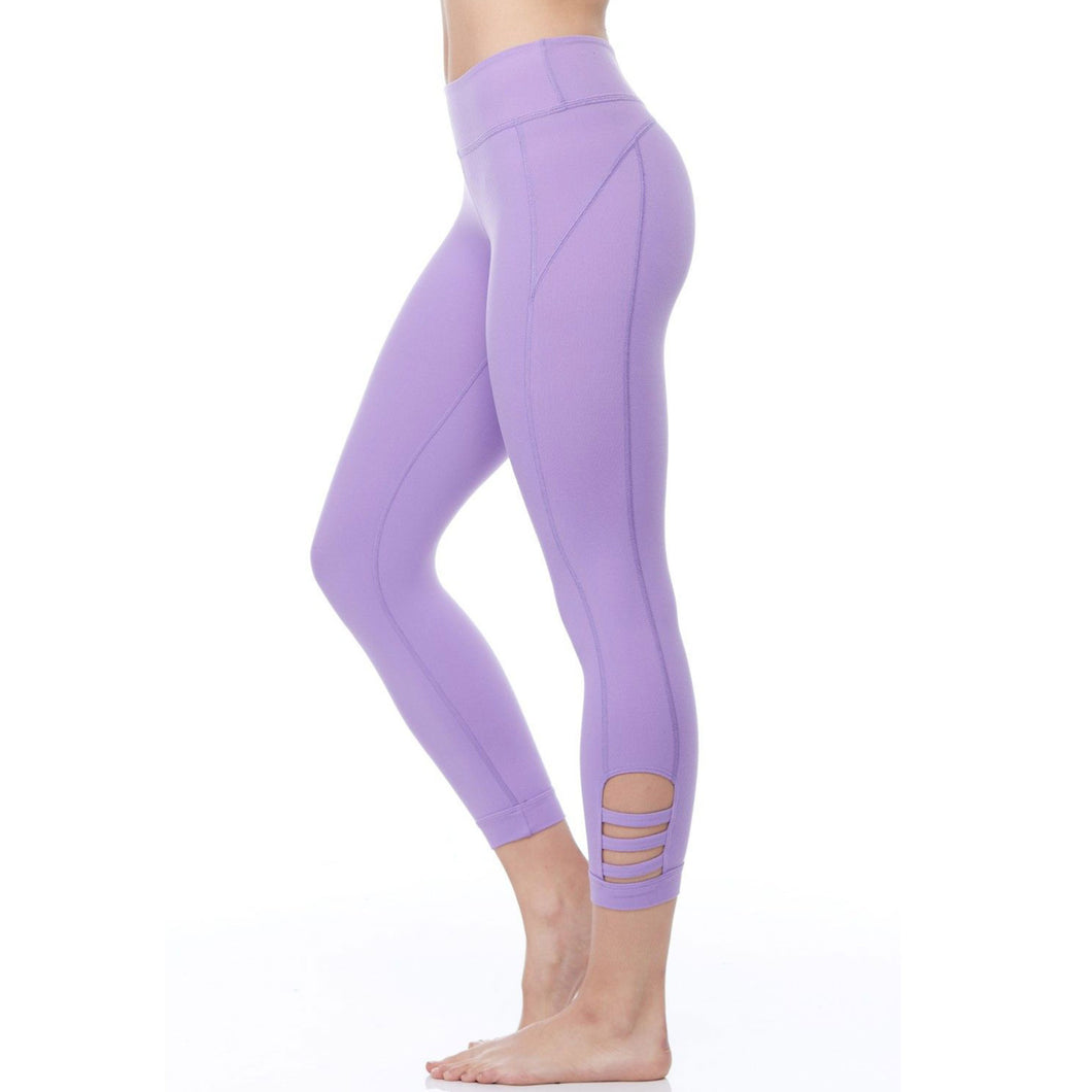 Beyond Yoga - Calf Cut-Out Capri leggings