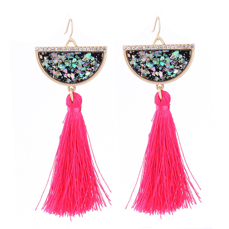 Felicia Drop Down Earrings