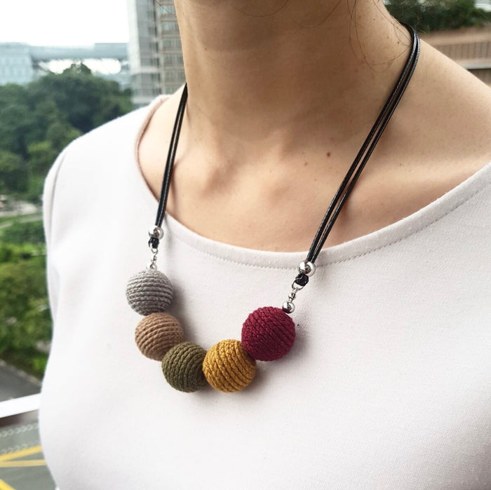 Geneva Crochet Necklace