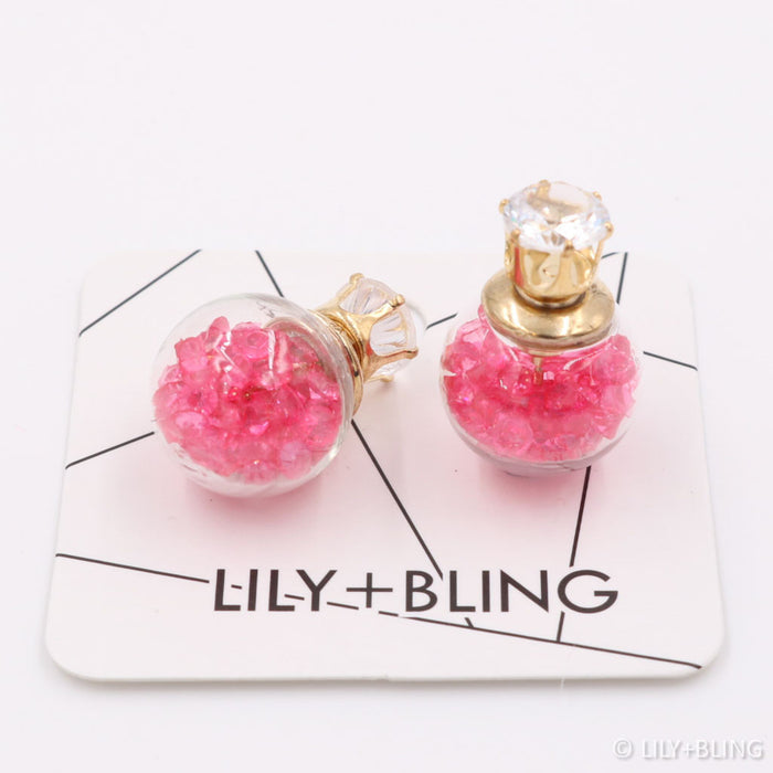 Very Hot Pink Earrings