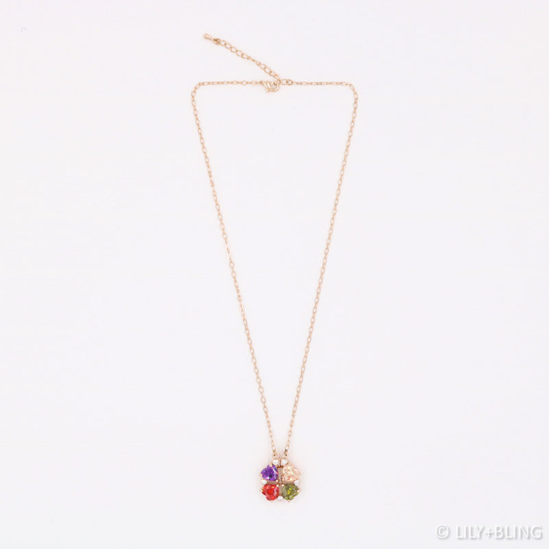 LUXE: Clover Jewels 2-Way Necklace