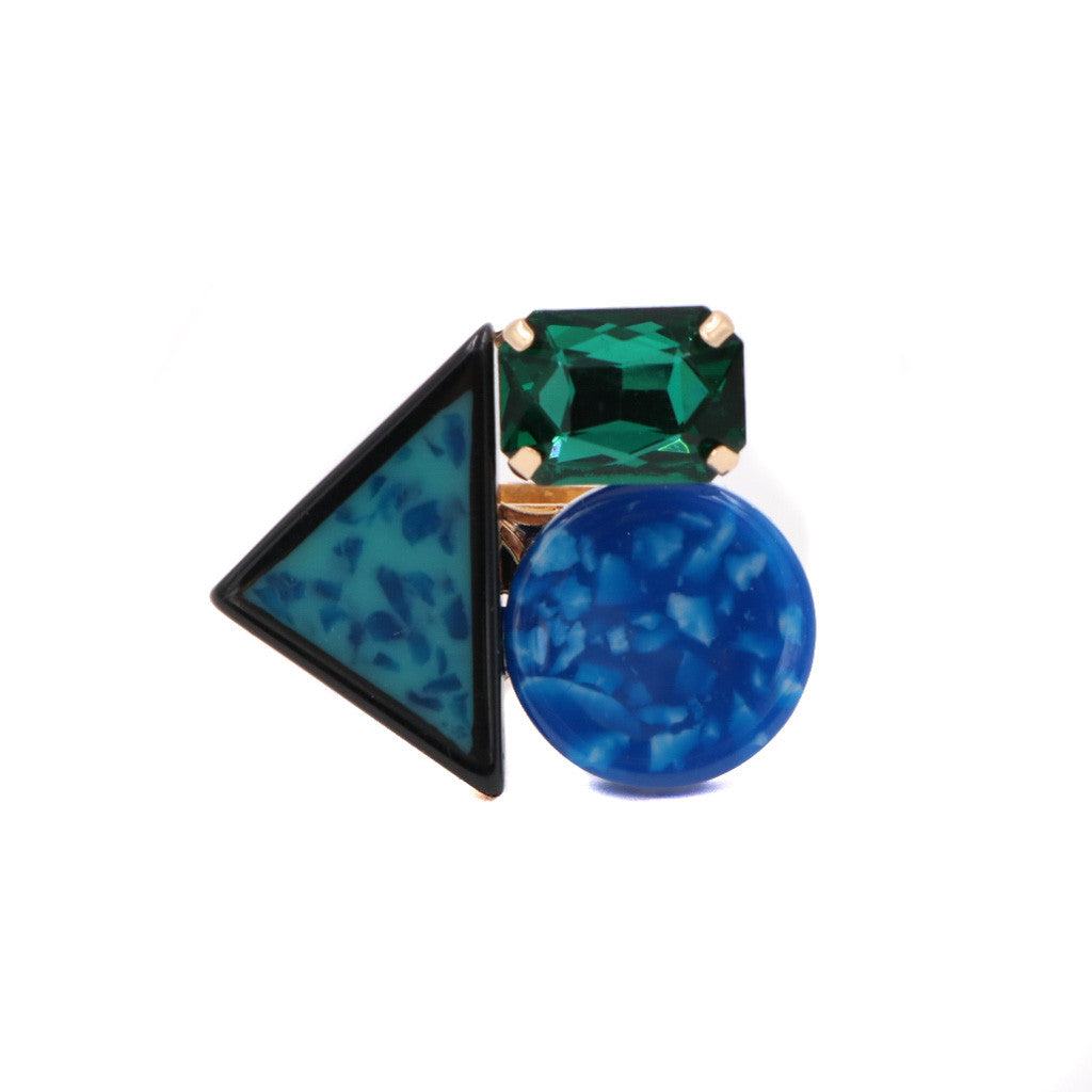 Mabel Emerald Gemstone Ring