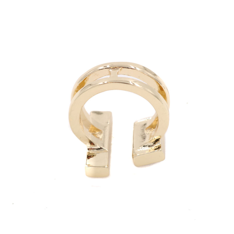 BACK IN STOCK: Duo Bar Opaque Gem Ring - Restocked