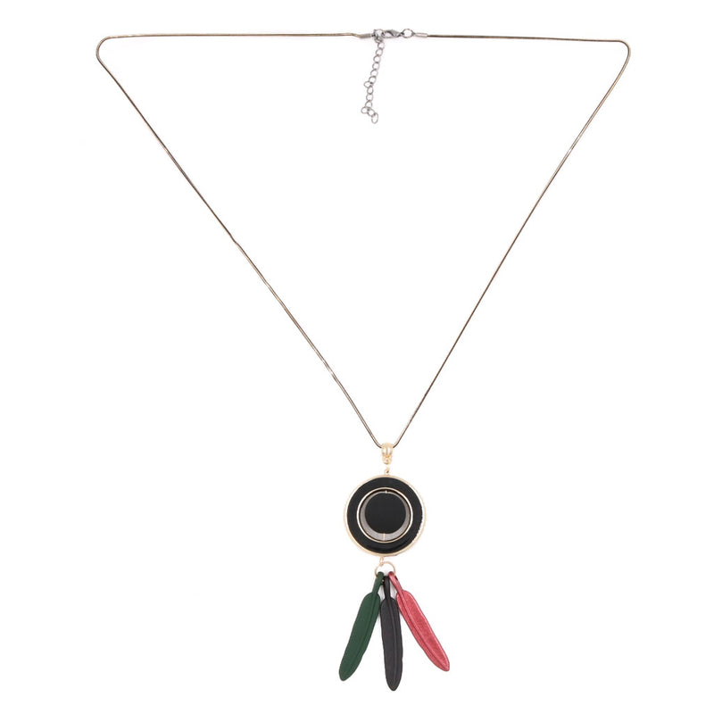 Sandy Boardroom Necklace - Black/Green