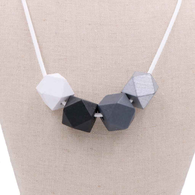 BACK IN STOCK: Handmade Colorpop Geometric Necklace (#16) - Restocked