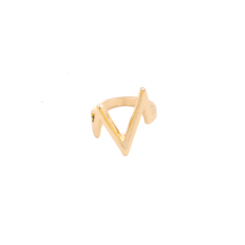 Heartbeat Ring in Gold