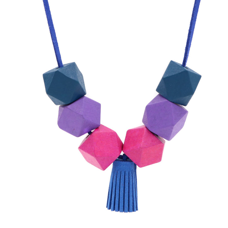 Back in Stock: Handmade Colorpop Necklace ft. Tassels (#2)