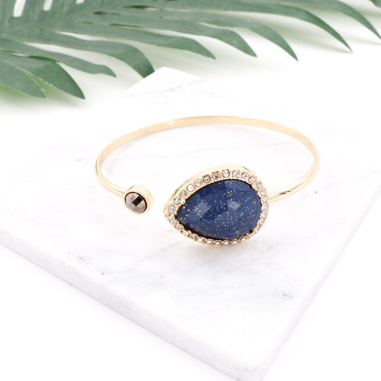 Diane Royal Blue Bangle