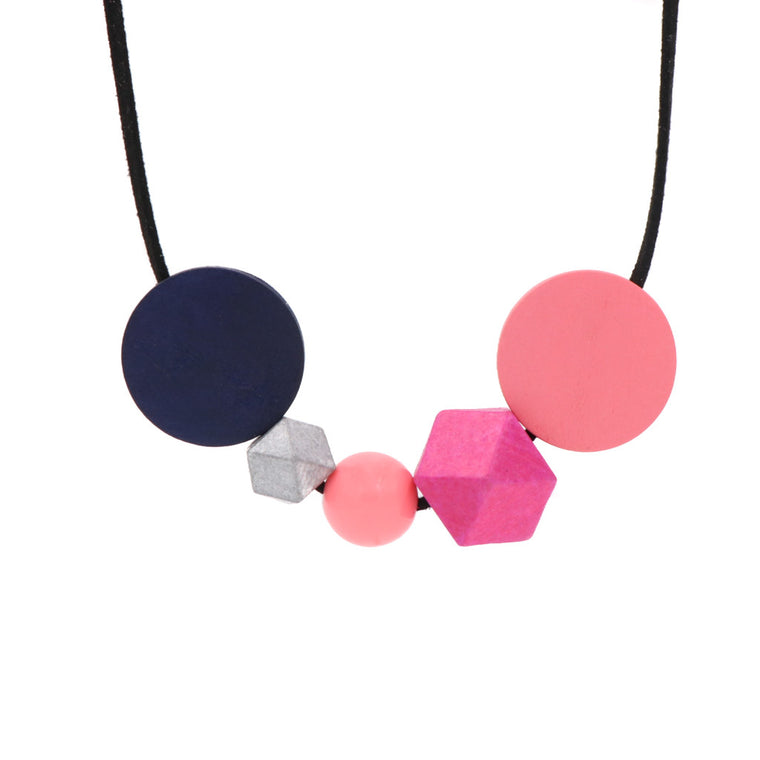 BACK IN STOCK: Handmade Melange Necklace - Night (Restocked)