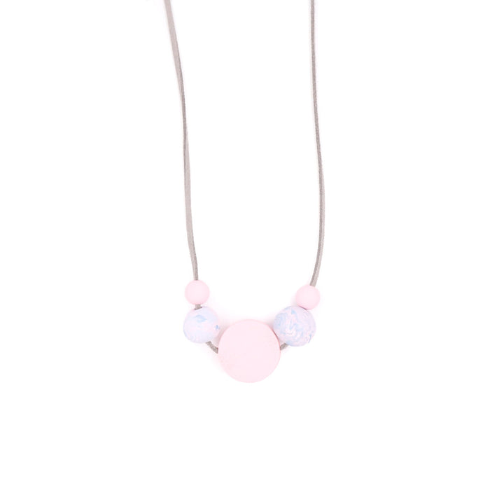 Handmade Pixie Pretty in Pink Necklace