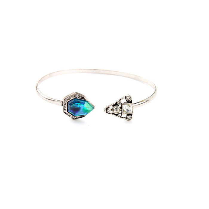 Chi Aquamarine Gems Bangle