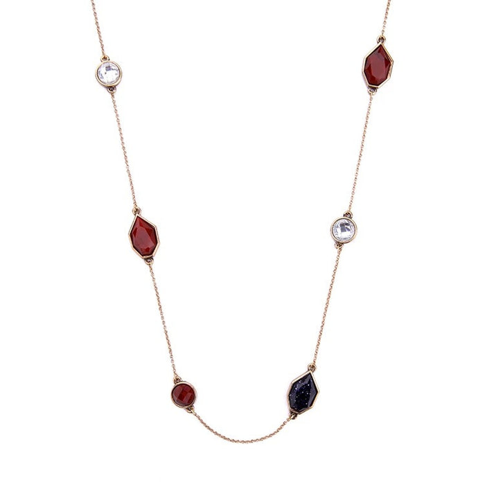 Audrey Vintage Boardroom Long Necklace