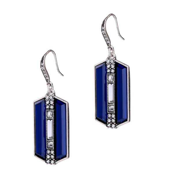 BACK IN STOCK: Helena Royal Sapphires Earrings (Restocked)