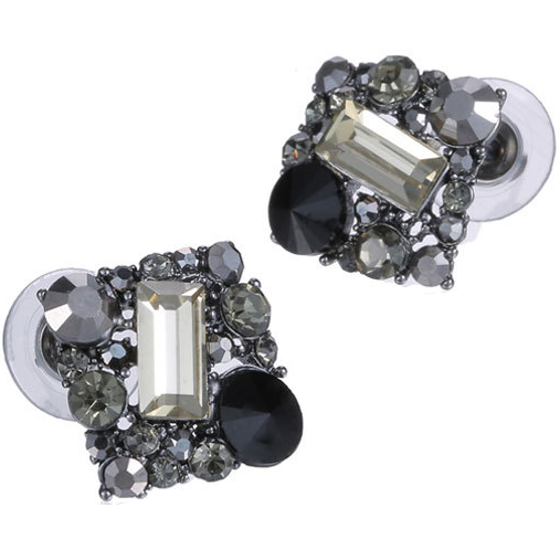 Choya Earrings in Winter Black