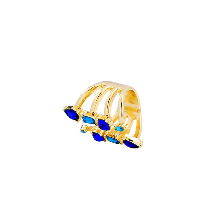 BACK IN STOCK: Agnes Classic Teardrops Ring (Restocked)