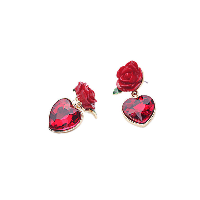Love Rosa Drip Earrings