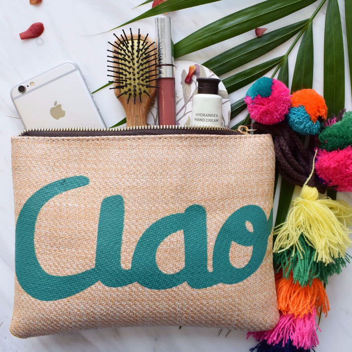Ciao Hand Clutch ft. Statement Tassels & Pom-Poms