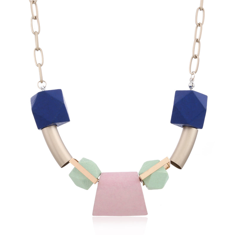 Germaine Necklace in Pale Pink