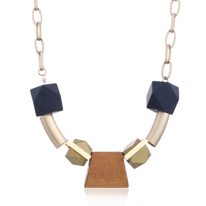 Germaine Necklace in Elegant Navy
