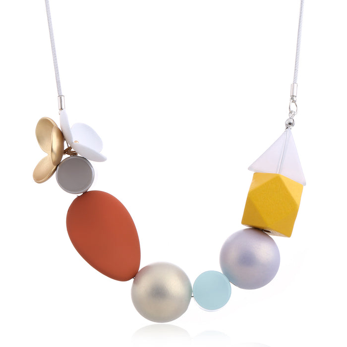 Delia Necklace in Bright Summer