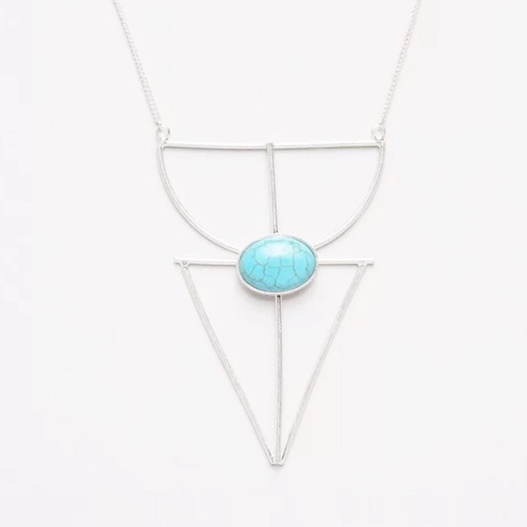 Athea Necklace in Blue