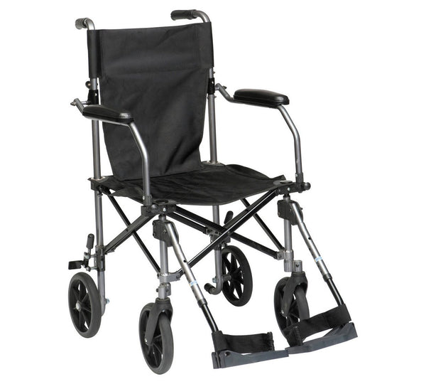 Lightweight Wheelchair with Travel Bag 18 stone 115kg