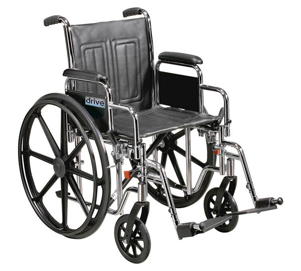 Sentra self-propelled wheelchair. Max weight: 22 stone / 140kg