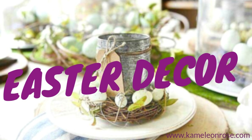 Bring the Spring into your home with beautiful Easter decor!