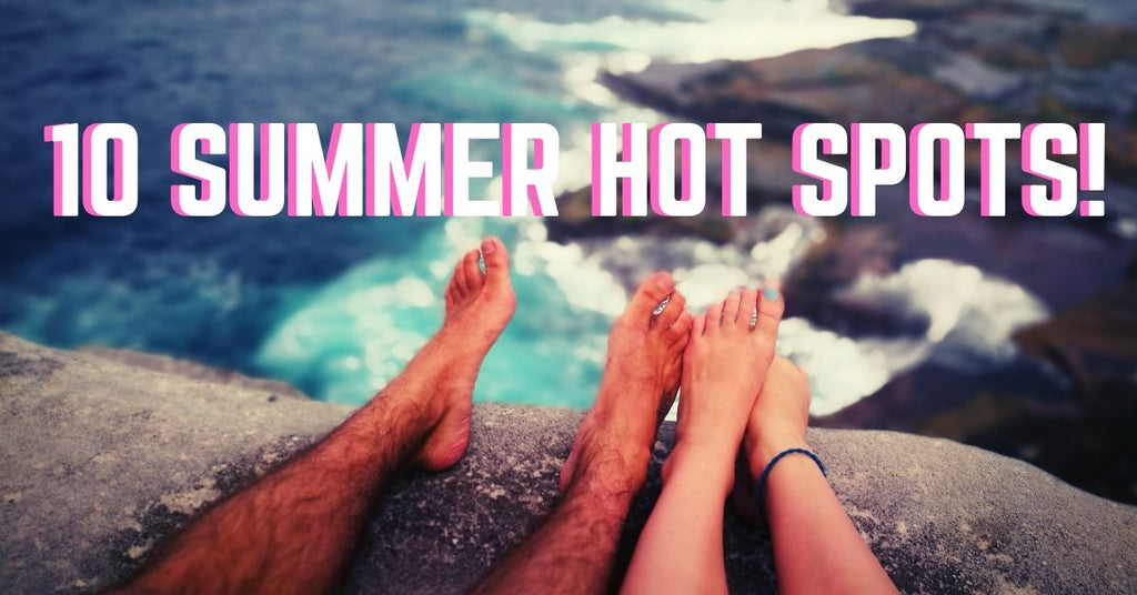 Can't pick where to travel this summer?😏 Check out our recommended hot spots!🔥