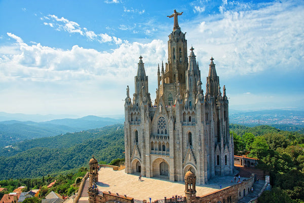 Sagrat Cor Church in Barcelona, Spain