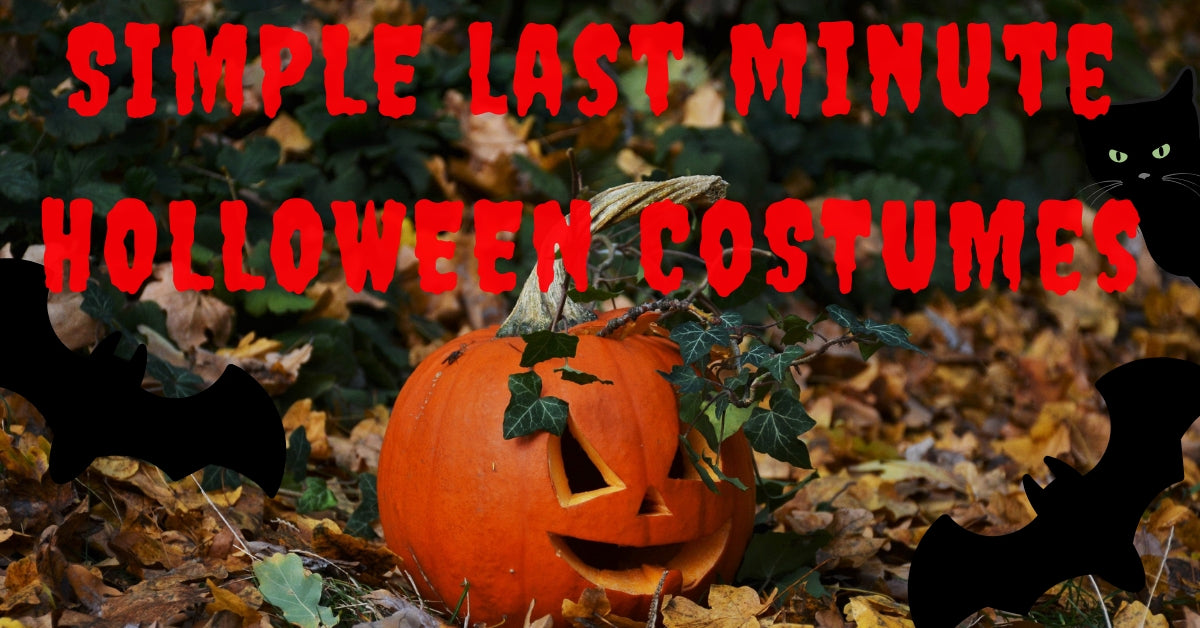 Boo Last Minute Halloween Costume Tips