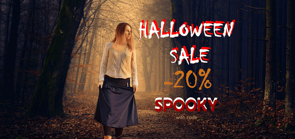 Halloween Sale, Halloween discount, Travel Clothes for Autumn, Multiway clothes