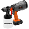 Terratek 18V Max Cordless Electric Spray Gun Fence Sprayer, 700ml Paint Container, HVLP Hand Held Spray Gun