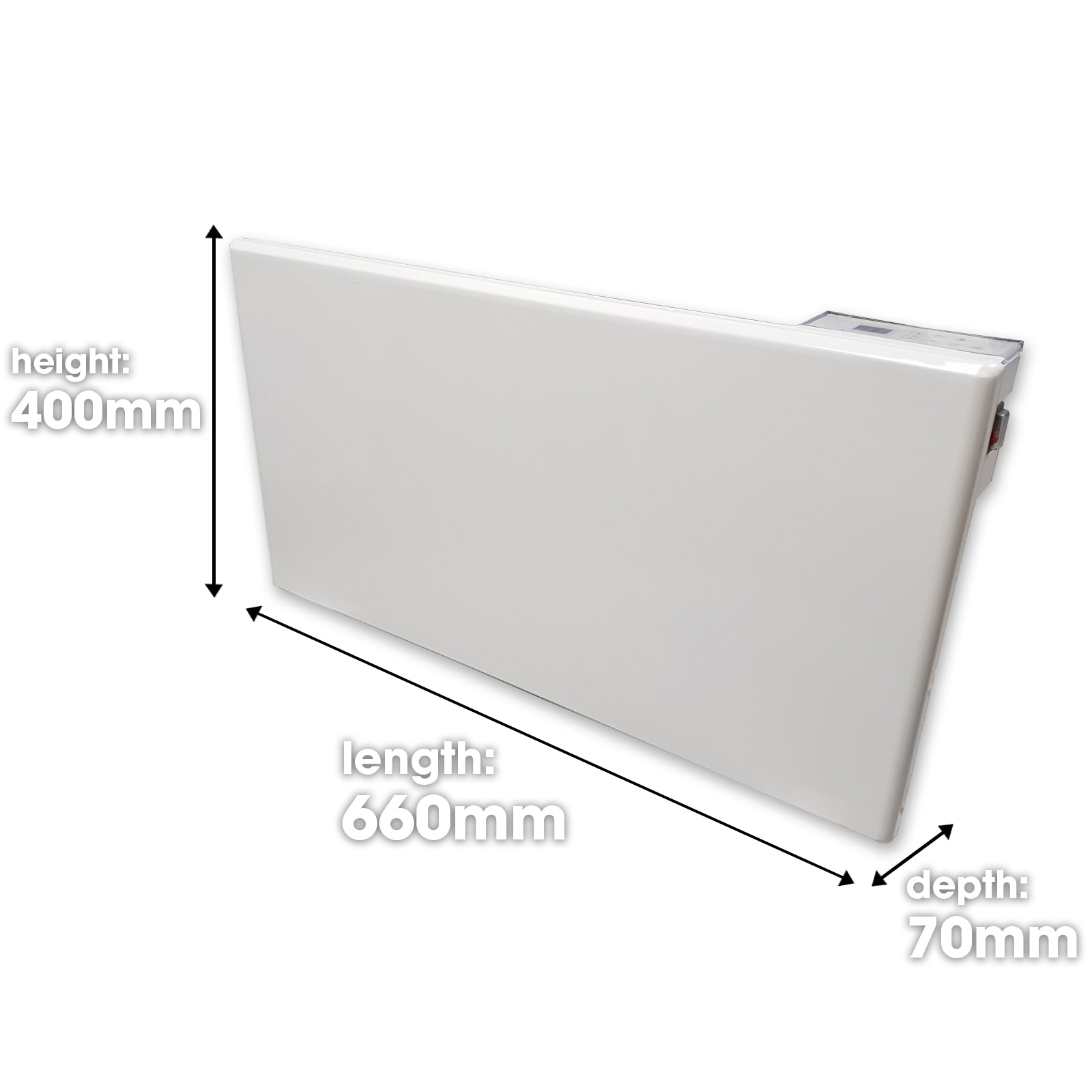 Purus Electric Wall Panel Heater