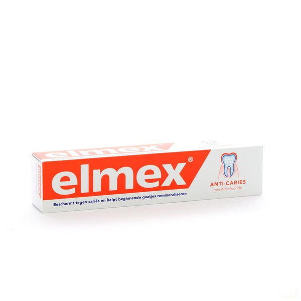 Elmex Tandpasta Anti Caries Volwassen Tube 75ml - Elmex-meridol - InstaCosmetic