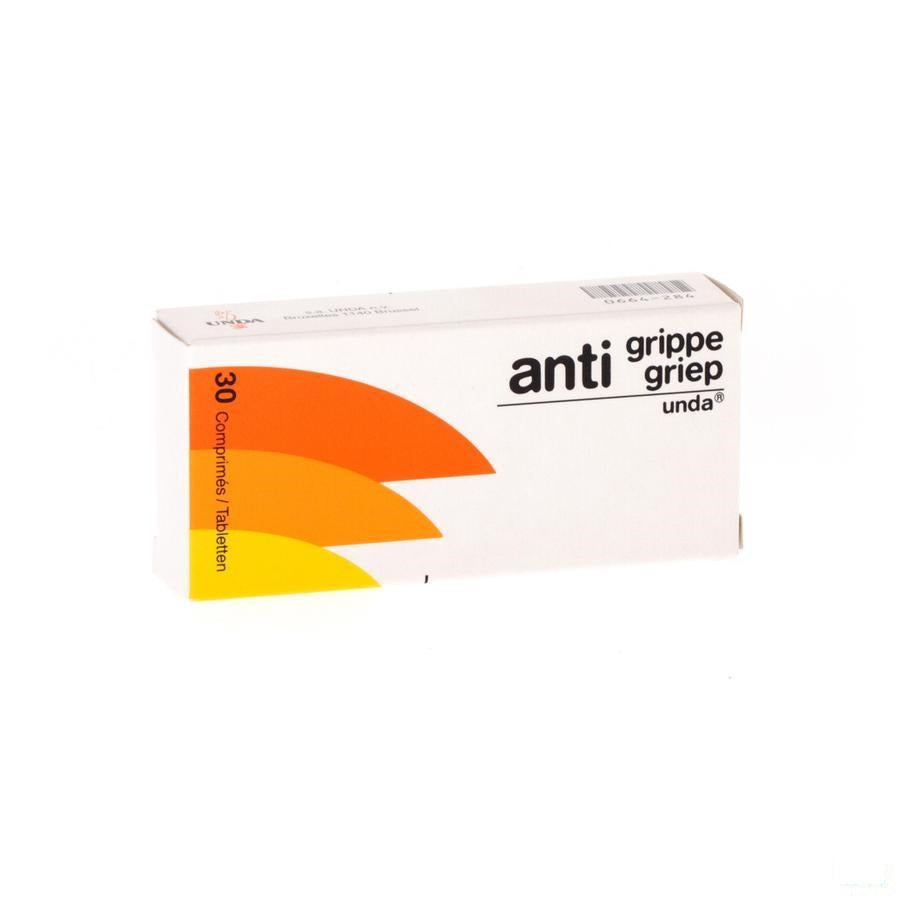 Anti Grippe Tabletten 30 Unda