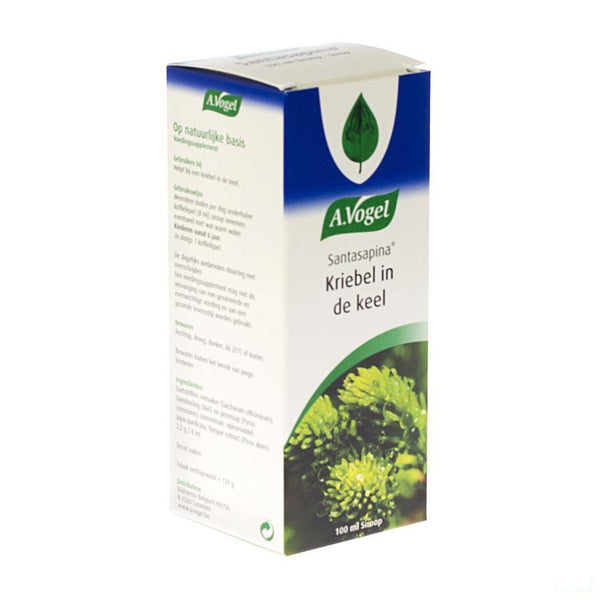 Vogel Santasapina Sirop 100ml - A. Vogel - InstaCosmetic