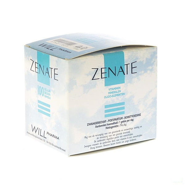 Zenate Capsules 100 - Will Pharma - InstaCosmetic
