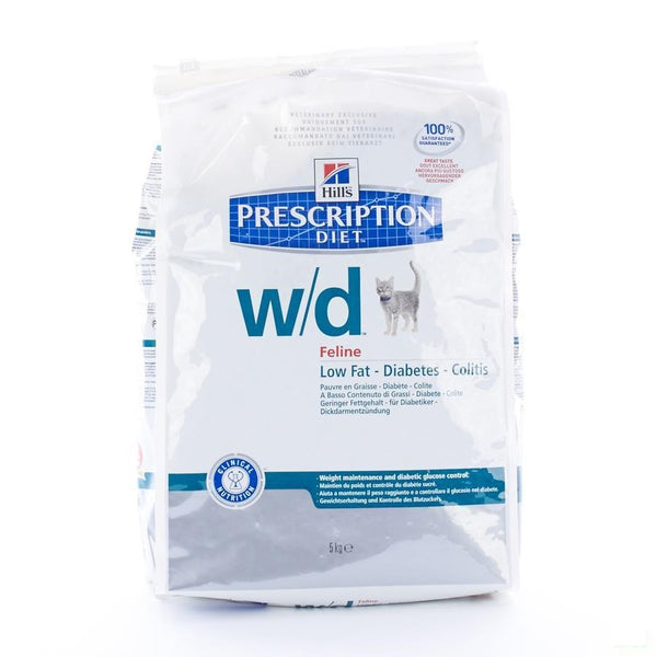 Hills Prescrip.diet Feline Wd 5kg 4328m - Hill's Pet Nutrition - InstaCosmetic