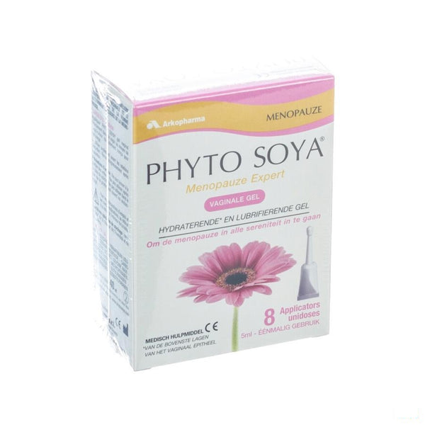 Phyto Soya Gel Vaginal Applic 8x5ml - Arkopharma - InstaCosmetic