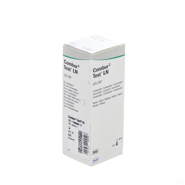 Combur 2 Test Ln Strips 50 11896890191 - Roche - InstaCosmetic