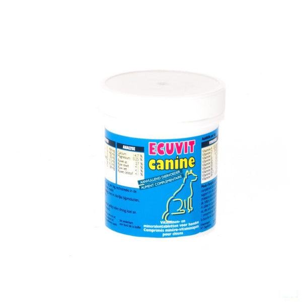 Ecuvit Canine Tabletten 100 - Ecuphar Nv/sa - InstaCosmetic