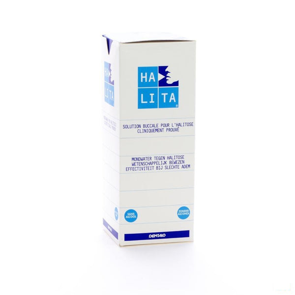 Halita Mondwater 500ml 3420 - Dentaid - InstaCosmetic