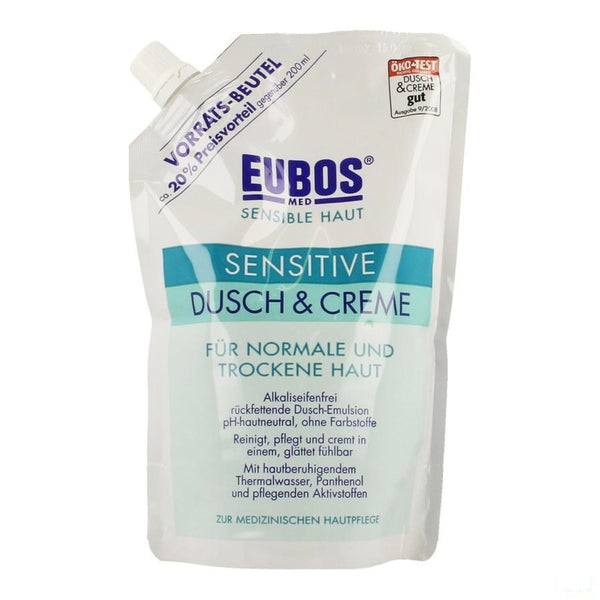 Eubos Creme Douche Sensitive Refill 400ml - I.d. Phar - InstaCosmetic
