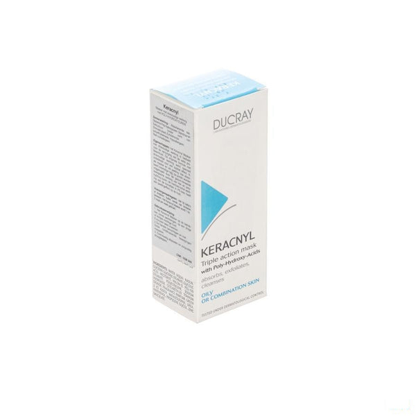 Ducray Keracnyl Masker Gommend 40ml