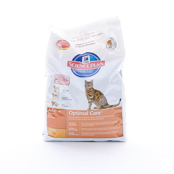 Hills Sc.plan Feline Adult Chicken 5kg 4294m - Hill's Pet Nutrition - InstaCosmetic